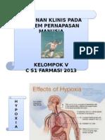 Kelompok 5 Kelainan Dan Gangguan Klinik Pada Sistem Pernafasan