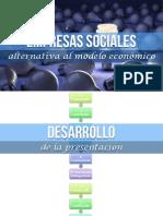 Empresas Sociales Una Alternativa para el Modelo Económico Actual