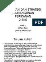 Kebijakan Dan Strategi Pembangunan Perikanan