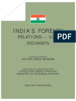 India Foreign Relation 2011