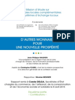 Rapport Monnaies Locales Complementaires vol 2 2015