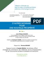 Rapport Monnaies Locales Complementaires vol 2 2015