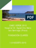 Viaje Humanitario Cabo Verde 2015