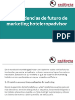 Diez tendencias de futuro de marketing hotelero