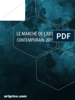 Le marché de l'art contemporain 2015, selon Artprice