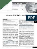 Determinacion de Costos Estandar y Variaciones