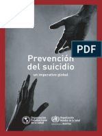 Prevención Del Suicidio Un Imperativo Global_spa