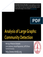 community detection in social networks