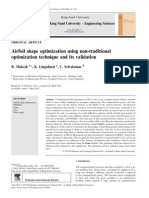 Airfoil Shape Optimization