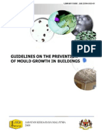 Guidelines on the Prevention of Mould Growth in Building