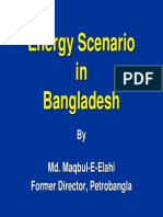 Energy Scenario in Bangladesh