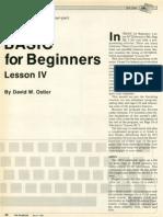 Basic 4 Beginner IV