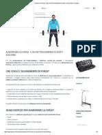 Aumentare La Forza_ Il Buon Programma Di Body-building _ Domyos