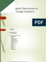 Google Analytics Regular Expressions