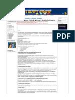 Construye Un Pinball Virtual - Parte Software Retrovicio