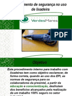 223666481 106955617 Treinamento de Uso de Lixadeira Ppt