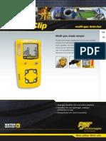 GAS DETECTOR MANUAL (GAZ ÖLÇER MANUELİ)
