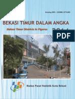 Kecamatan Bekasi Timur Dalam Angka 2014