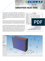 DEHUMIDIFIER HEAT PIPE