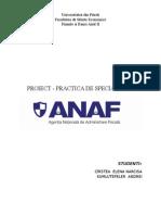 Prezentare ANAF