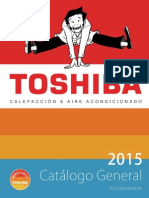 Catalogo General Toshiba 2015