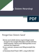 Obat Pada Sistem Neurologi