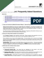 Module Enrolment FAQ s September 2015
