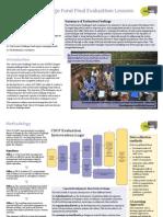 IOD PARC Final Evaluation DFID CSCF Lessons_Communications Piece