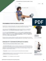 Programma Di Body-building All'Aperto _ Domyos