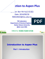 Introduction to Aspen Plus --2015