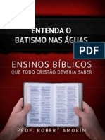eBook Batismo Nas Aguas
