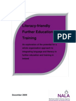Literacy-Friendly Further Education and Training Report 2009_0