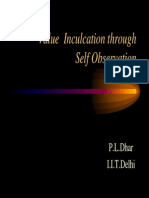 PL Dhar Valueeduselfobservation 140108061403 Phpapp02