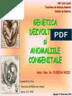 Curs Genetica Dezvoltarii 8