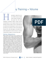 Hypertrophy Training