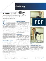 Core Flexibility
