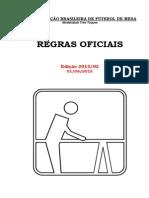 Futmesa Regras Oficiais Edição 2015-02!01!06-2015