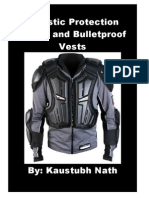 ballistic protection fabrics and bulletproof vests