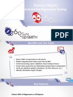 360Bind Business Objects Automated Regression Testing