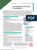 Preocupacion Sexual Mjer Pos Menopausia
