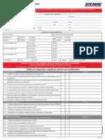 Formulario CHECK LIST Entrega Tecnica