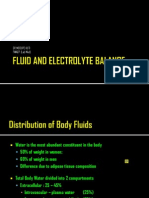 Fluid and Electrolyte Balance Lecture