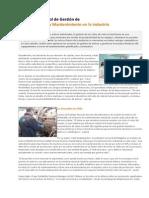 El Importante Rol de Gestión de Activos Fisicos y Mantenimiento en La Industria