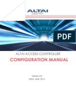 Altai Access Controller Configuration Manual _ v2.0