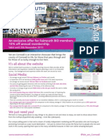 We Are Cornwall Rate Card - Falmouth
