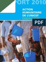 Rapport Action humanitaire 2010, résumé