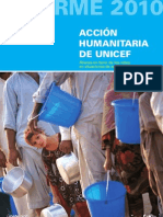 Informe de Acción Humanitaria 2010, Resumen