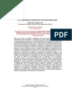 Ley de Desarrollo Urbano Del Estado de Nuevo León_dic_2011