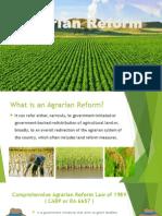 Comprehensive Agrarian Reform Program or RA 6657