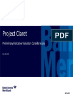 Merrill Lynch - Project Claret NBA 2014